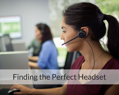 Finding the Perfect Headset