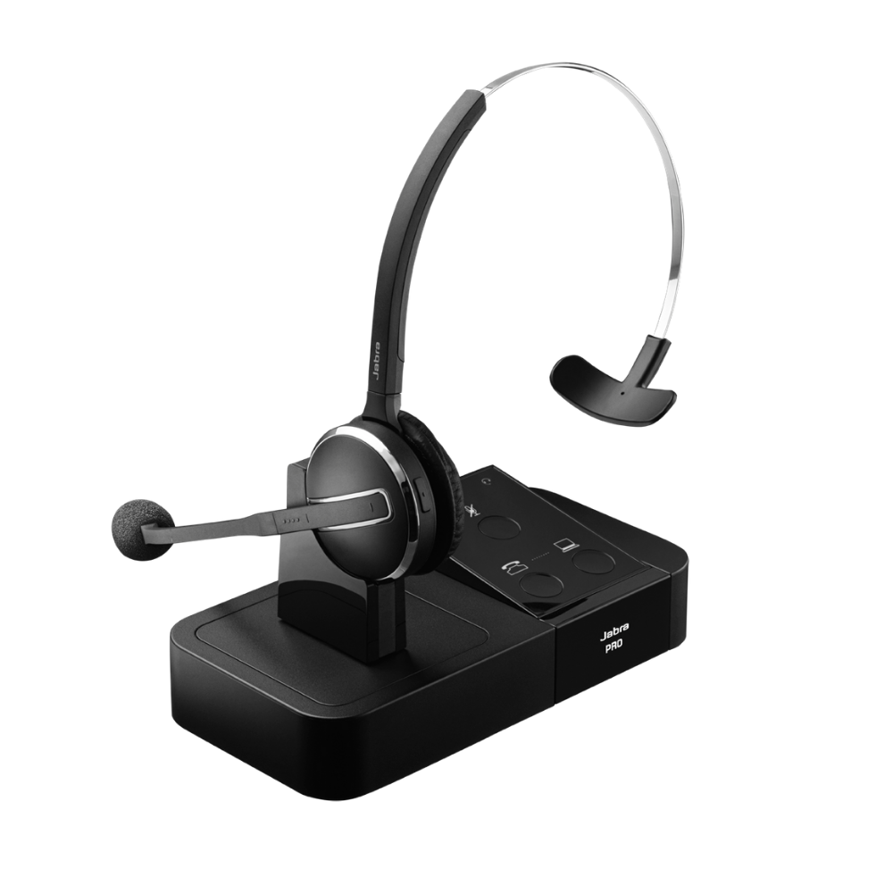 Jabra Pro 9450 Wireless Headset Mono Nrg Teleresources
