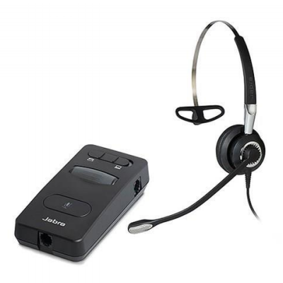 Connecting the Jabra Link 860 (telephone with headset port