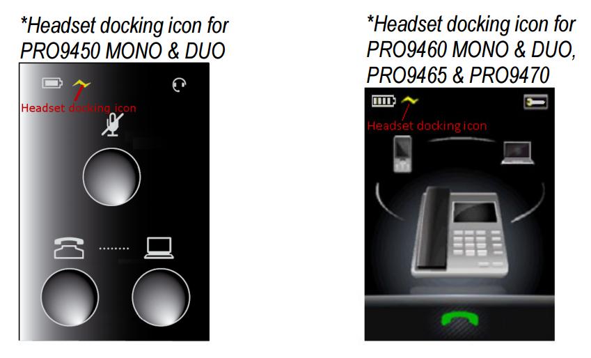 PRO9400 docking icon