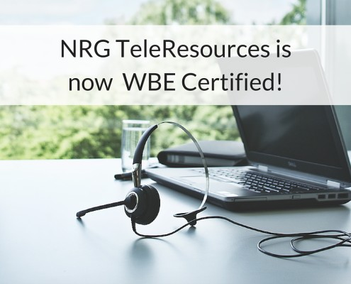 WBE certification, WBE Certified, NRG TeleResources, Diversity, women